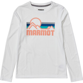 Marmot Windridge Langarm Top Mädchen white